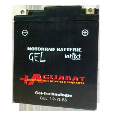 Batería de Gel YTX7L-BS