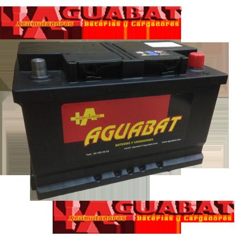 Baterías de Coche AG750B