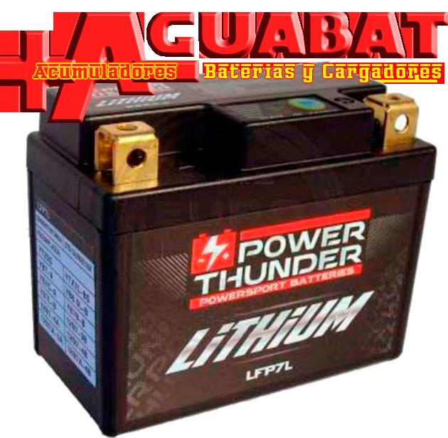 Batería de Litio YTX7L-BS