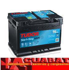 Batería Tudor AGM TK700