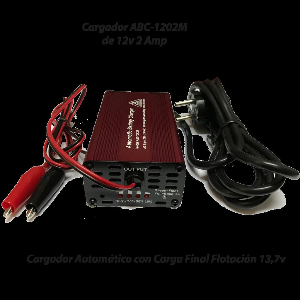 Cargador ABC-1202M