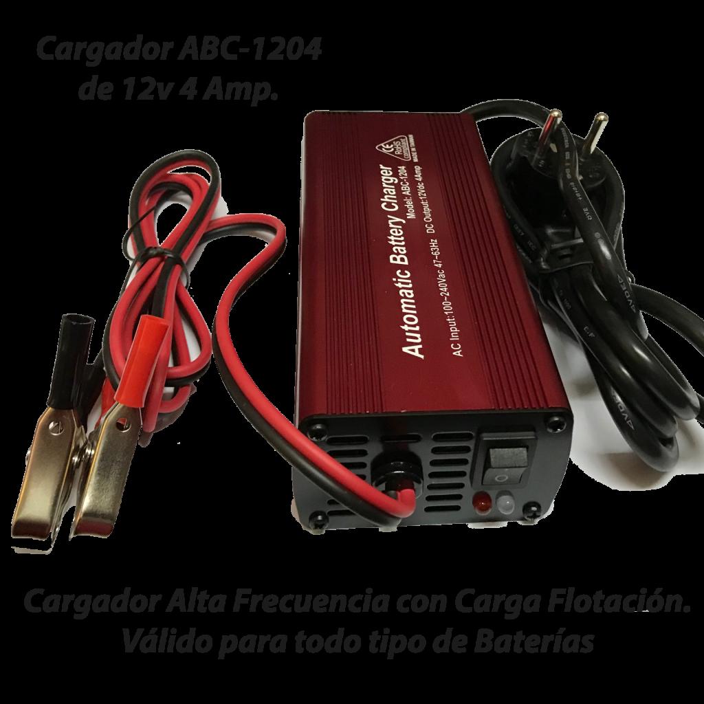 Cargador ABC-1204