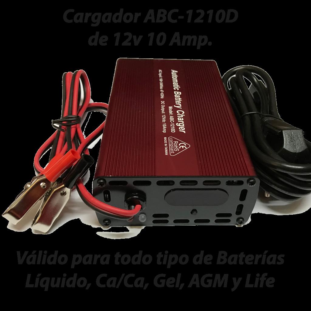 Cargador ABC-1210D