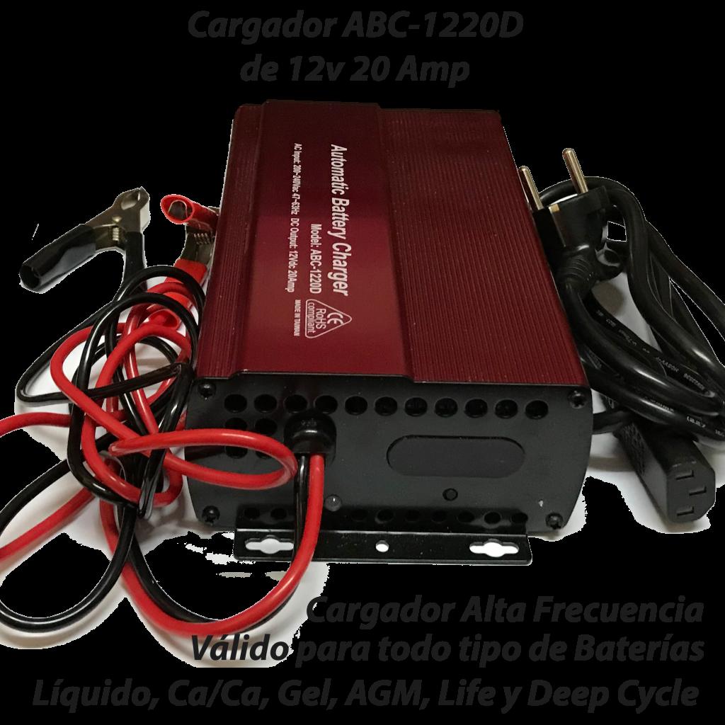 Cargador ABC-1220D