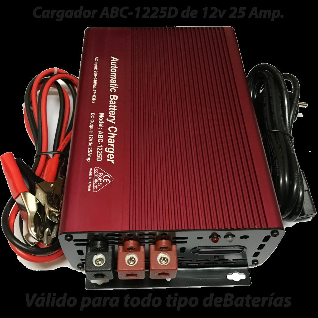 Cargador ABC-1225D