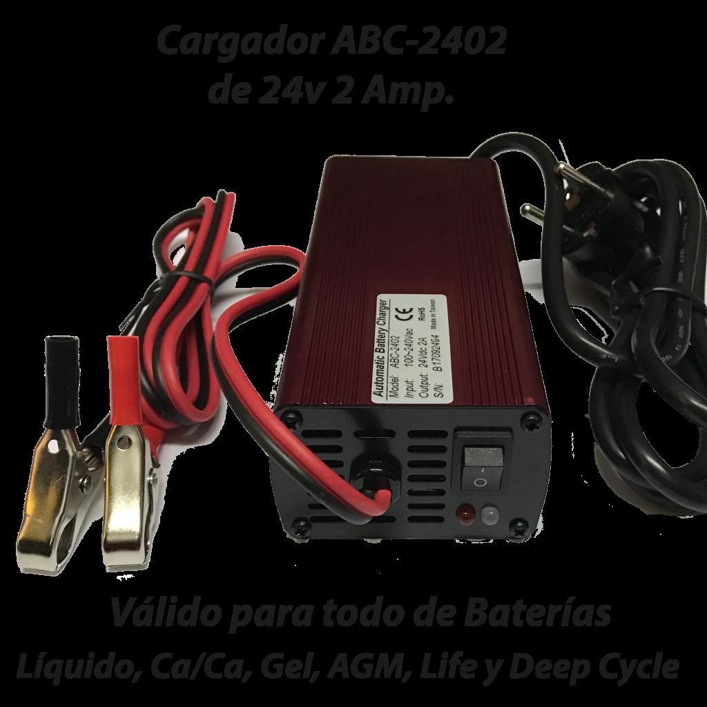 Cargador ABC-2402